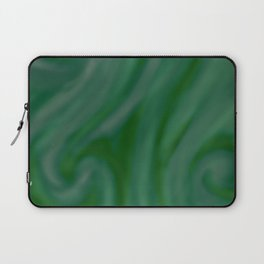 Green SWIRL Laptop Sleeve