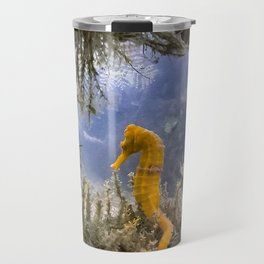 Seahorse Window Travel Mug