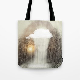 Raining Tears Tote Bag