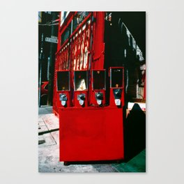 Red Jack's Market Candy Canvas Print