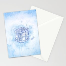 Boxed Mime (Blue) Stationery Cards