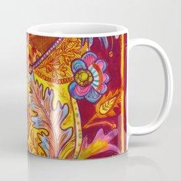 Lush Reds & Yellows Coffee Mug