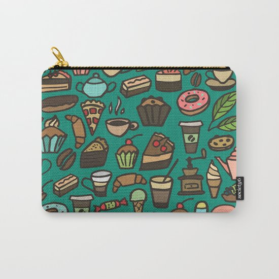 Coffee and pastry  Carry-All Pouch