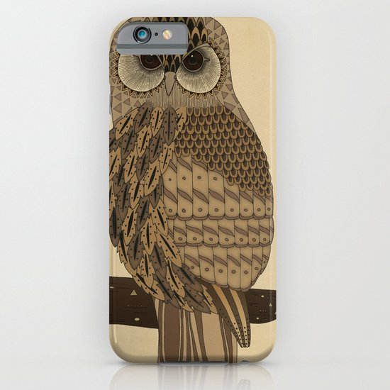 The Laughing Owl iPhone & iPod Case