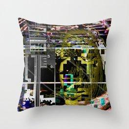 Ultra-Mega-Super Glitch 09-14-16 Throw Pillow