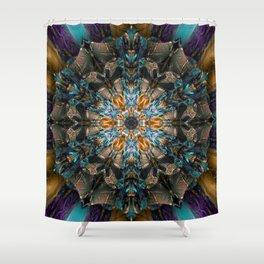 Mandala of aristocracy 2 Shower Curtain