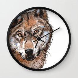 loup y es tu? Wall Clock