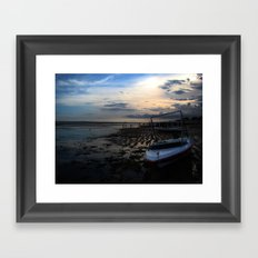 Spring Tide in September Framed Art Print