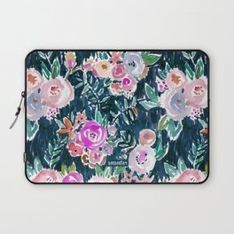 Midnight PROFUSION FLORAL Laptop Sleeve