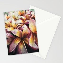 Maui Plumerias Stationery Cards