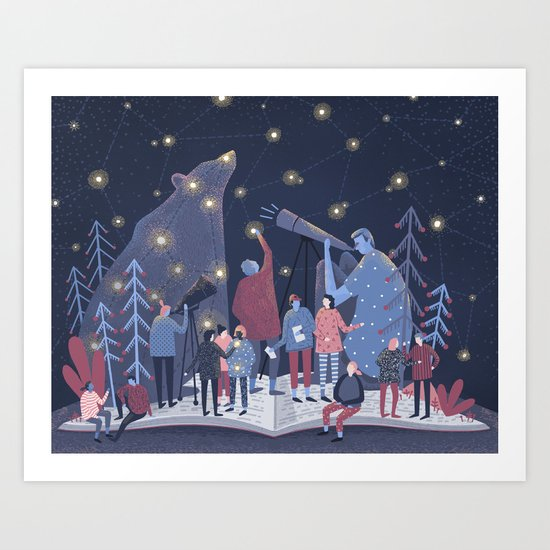 Astronomers Art Print