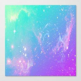 galaxy pastel Canvas Print