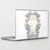 angels Laptop & iPad Skins featuring Angels by FakeFred