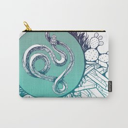 Snake Spirit (Turquoise) Carry-All Pouch