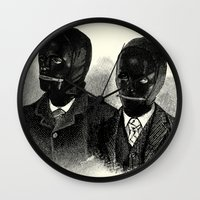 bdsm Wall Clocks featuring BDSM  by DIVIDUS