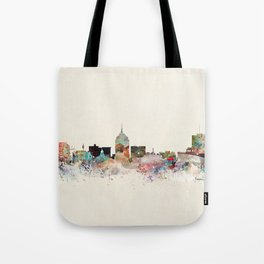fresno skyline Tote Bag