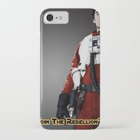poe iPhone & iPod Cases featuring Poe by KL Design Solutions