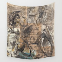 Here In My Arms Wall Tapestry