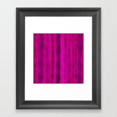 Tourmaline Arrow Pattern Framed Art Print