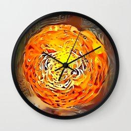 Atomic Flower Ball Wall Clock