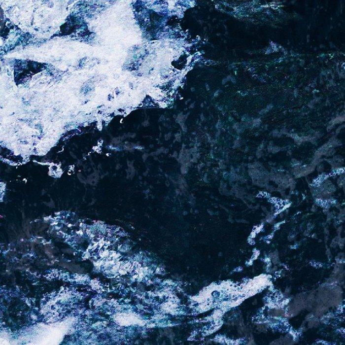 Wild ocean waves Leggings