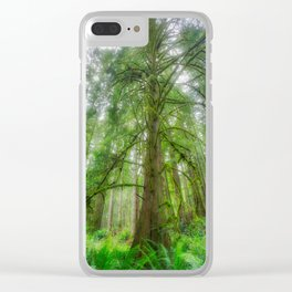 Ethereal Tree Clear iPhone Case