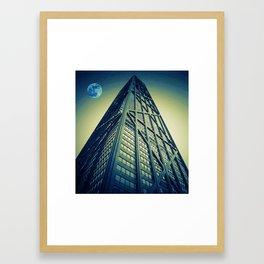 John Hancock Building in Chicago Framed Art Print
