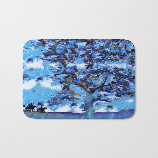 Plum Tree Hills Bath Mat