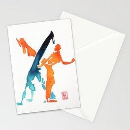 Capoeira 244 Stationery Cards