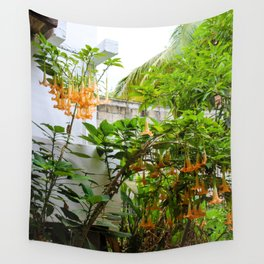 Dreamy Mexican Trumpets Wall Tapestry