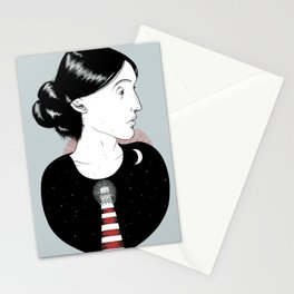 To the Lighthouse - Virginia Woolf Stationery Cards