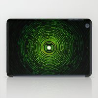 green lantern iPad Cases featuring Green Lantern by Electra