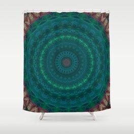 FineLine Mandala 12 Shower Curtain