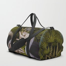 """The hands of Bosch and the Spring"" Duffle Bag"