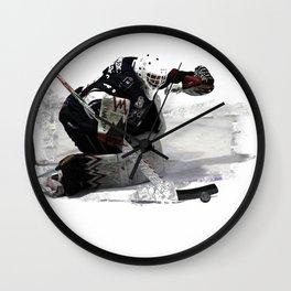 No Goal! - Hockey Goalie Wall Clock