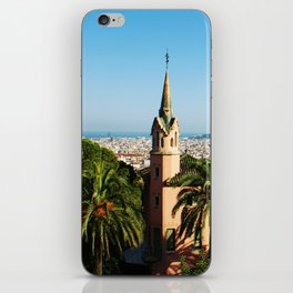 Barcelona architecture iPhone Skin