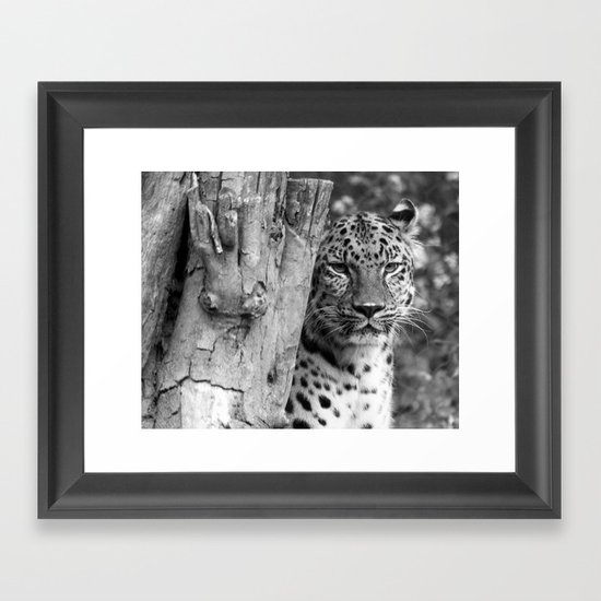 Let's do lunch. Framed Art Print