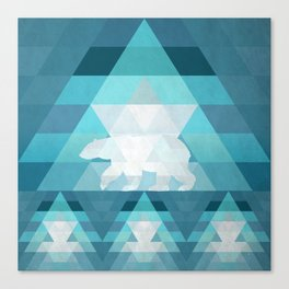 Polar Canvas Print
