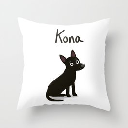 "Custom Artwork, ""Kona"" Throw Pillow"