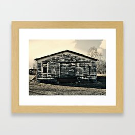 Shack in Cele, TX 2 Framed Art Print