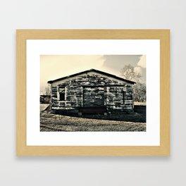 Shack in Cele, TX 2 Framed Art Print