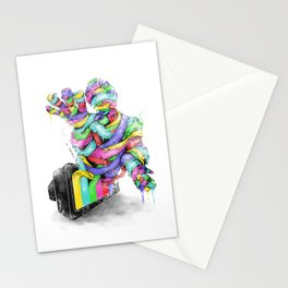 the mummy on air Stationery Cards
