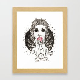 Medusing Sedusa Framed Art Print