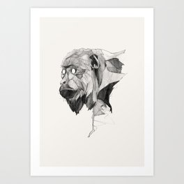 Seven Monkeys – Greed Art Print