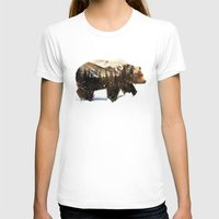 arctic monkeys T-shirts featuring Arctic Grizzly Bear by Andreas Lie