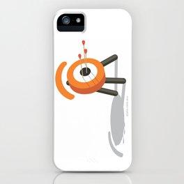 arrowed glance iPhone Case