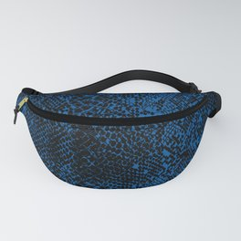 Snake Princess Blue Fanny Pack