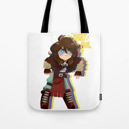 FIGHT MOI Tote Bag