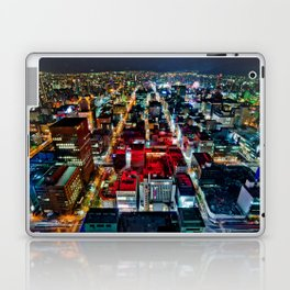 A Peaceful City - Sapporo , Japan ( Without Billboard )  Laptop & iPad Skin