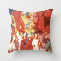 destiny Throw Pillows featuring  Destiny by Ganech joe